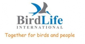 BirdLife International Logo with a graphic of a bird over the words BirdLife International Together for birds and people