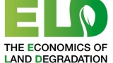 Economics of land degradation logo. ELD with a leaf in the D with the words The Economics of Land Degradation