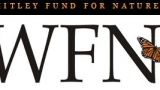 Whitley Fund for Nature Logo with the text Whitley Fund for Nature WFN with a monarch butterfly graphic.