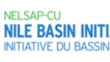 Nile Basin Initiative Logo. Words Nile Basin Initiative in English and French.